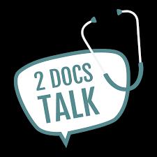 2 Docs Talk podcast logo
