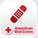 First Aid app logo from the American Red Cross