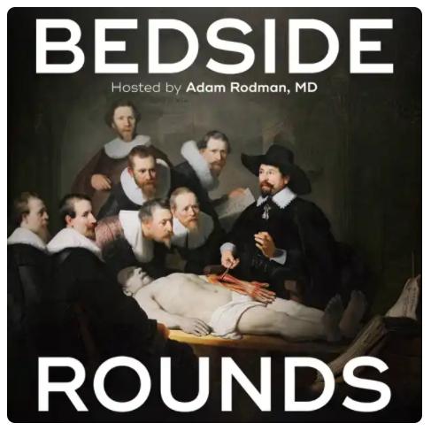 Bedside Rounds Podcast logo