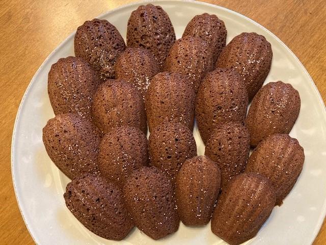 "Chocolate madeleine ""cookies"""