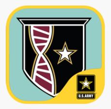USAMRIID's Biodefense App logo