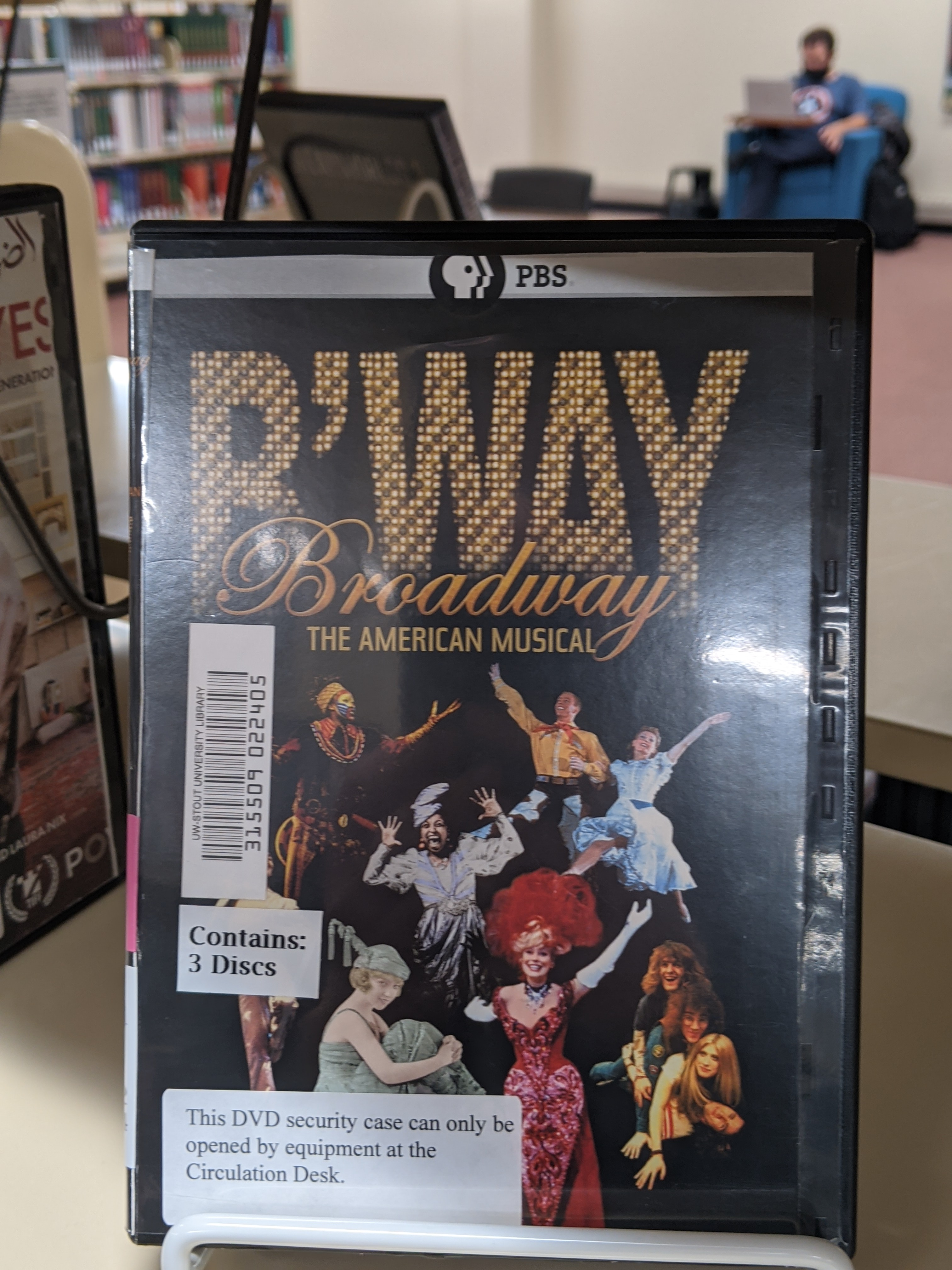 Broadway the American Musicals cover art