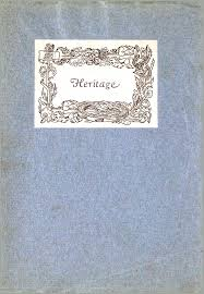 Heritage: A Centennial Commemoration, The Sisters of Saint Joseph of Carondelet, 1836-1936 by Sister Antonine