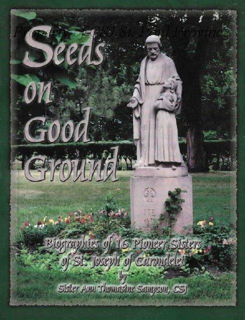 Seeds on Good Ground by Ann Thomasine Sampson