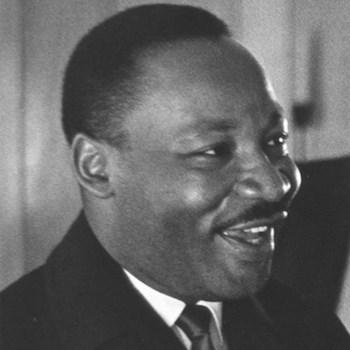 Photograph of Dr. Martin Luther King, Jr. by Robert Sengstacke