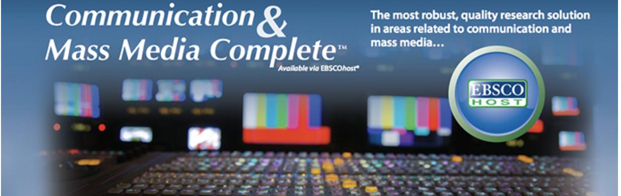 Communication & Mass Media Complete logo