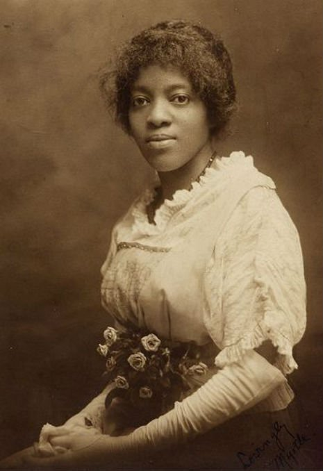 Sepia tone photo of Black Victorian woman