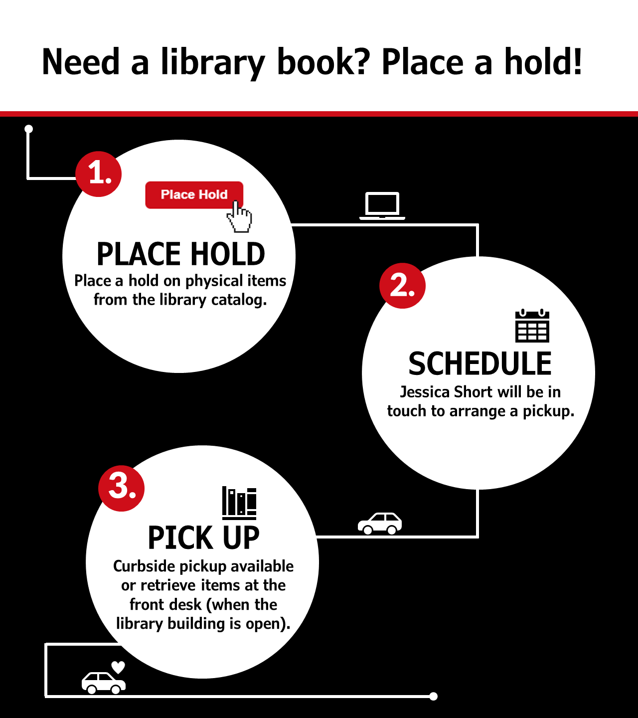 Need a Library book? Place a hold!