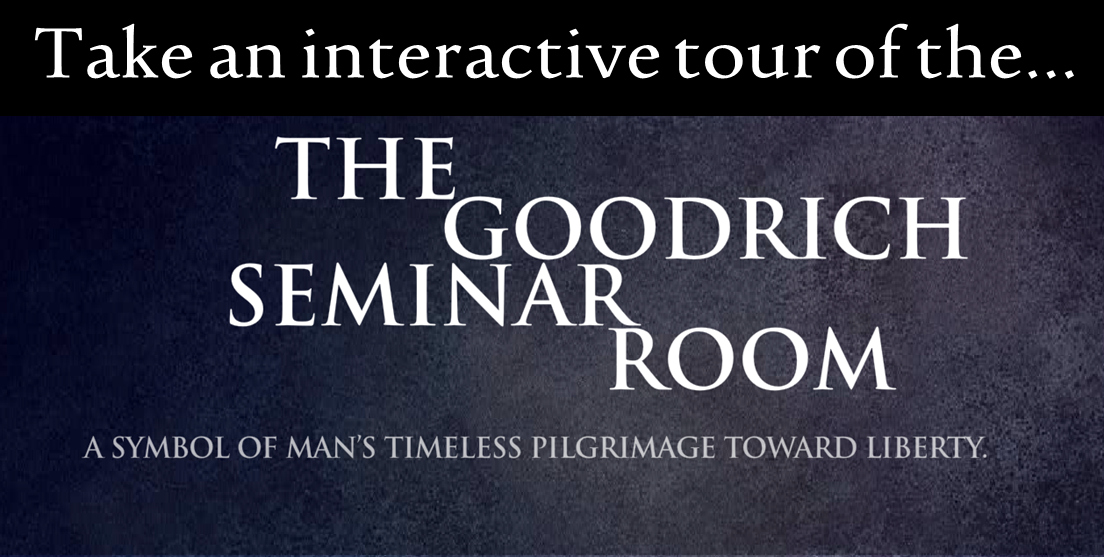 Click here to take a virtual tour of the Goodrich Seminar Room
