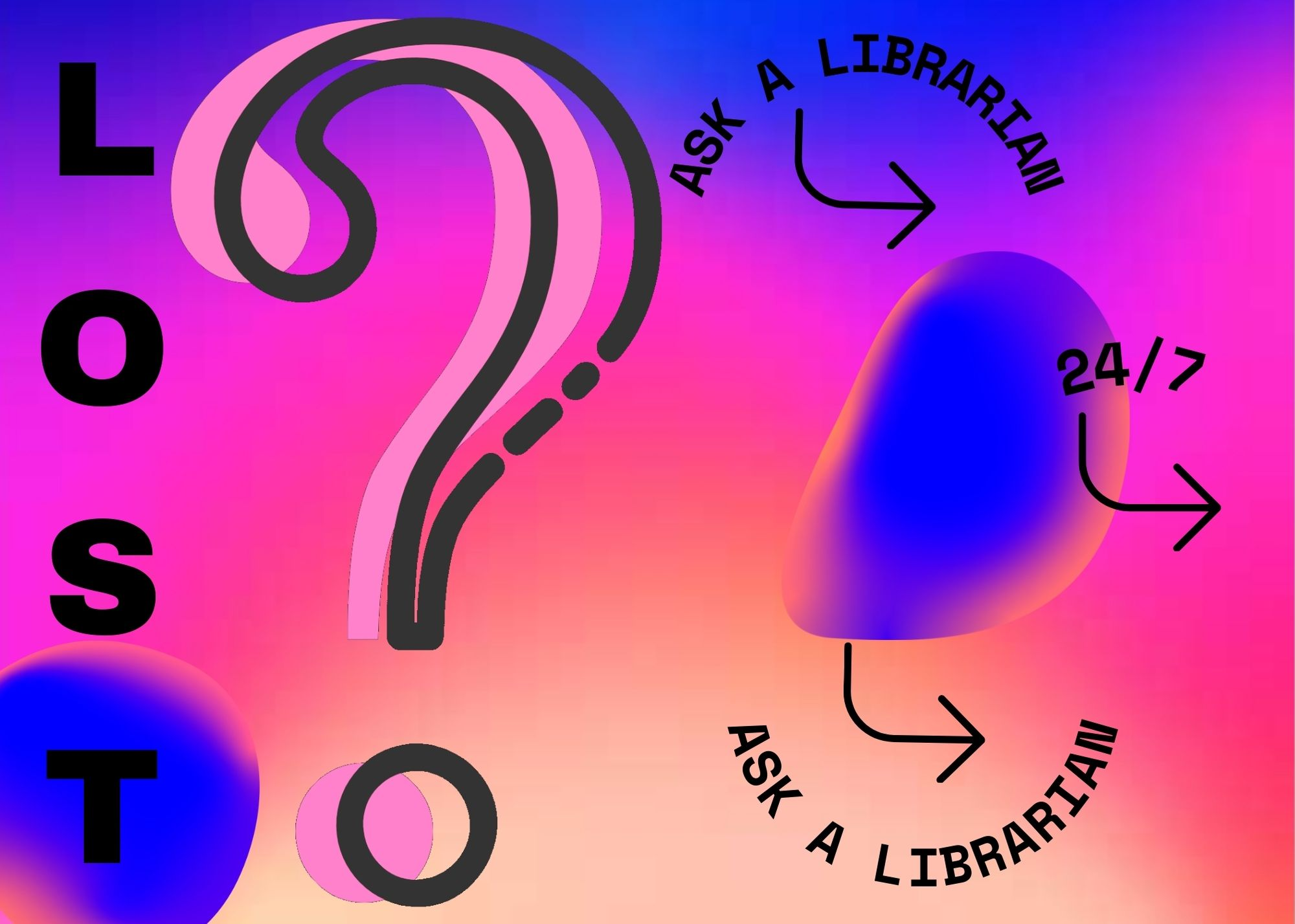 Lost? Use Ask A Librarian