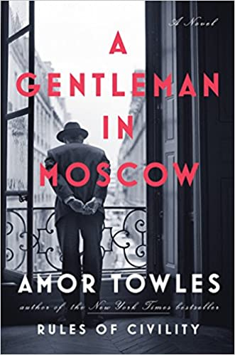 Cover of a book called A Gentleman in Russia