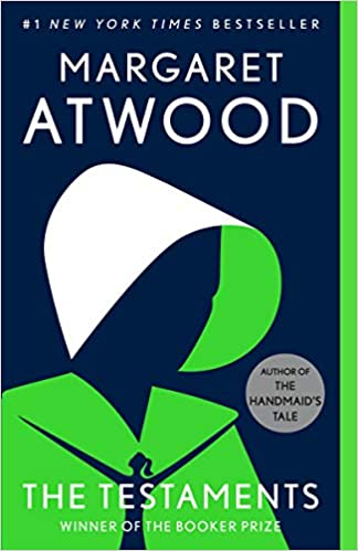 Image of cover of Margaret Atwood's Book Testaments