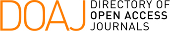 Logo for DOAJ Directory of Open Access Journals with link