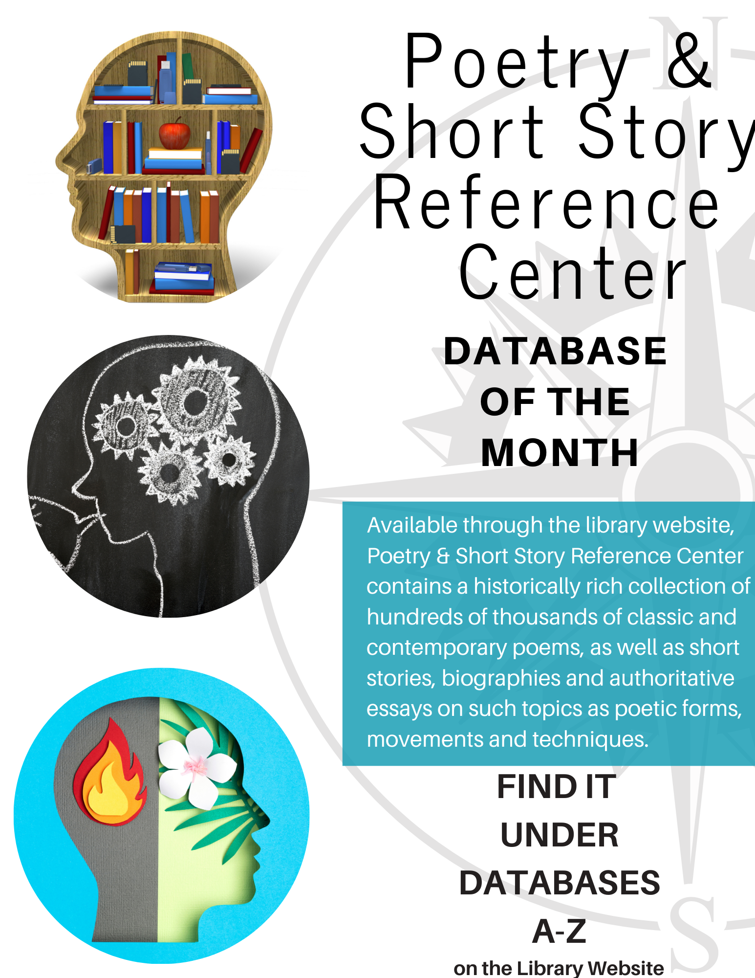 Database of the Month Poetry and Short Story Reference Center