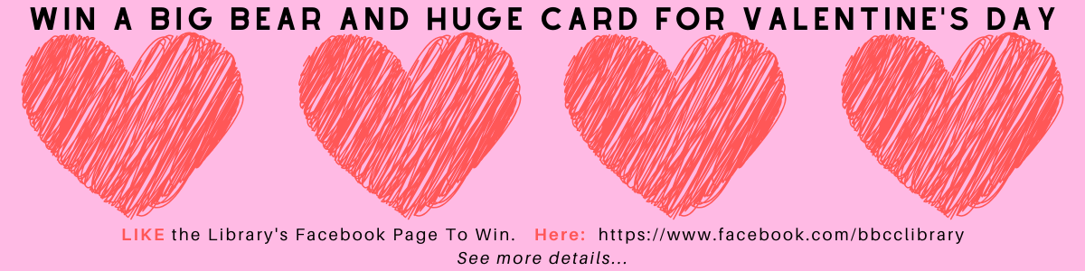 Win a Big Bear and a Huge Card for Valentine's Day...