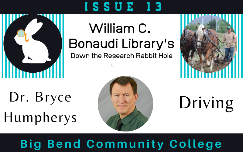 Down the Research Rabiit Hole with Dr. Bryce Humpherys William C. Bonaudi Library