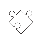 Jig saw puzzle piece