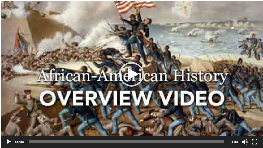 Introduction Image of Database African American History