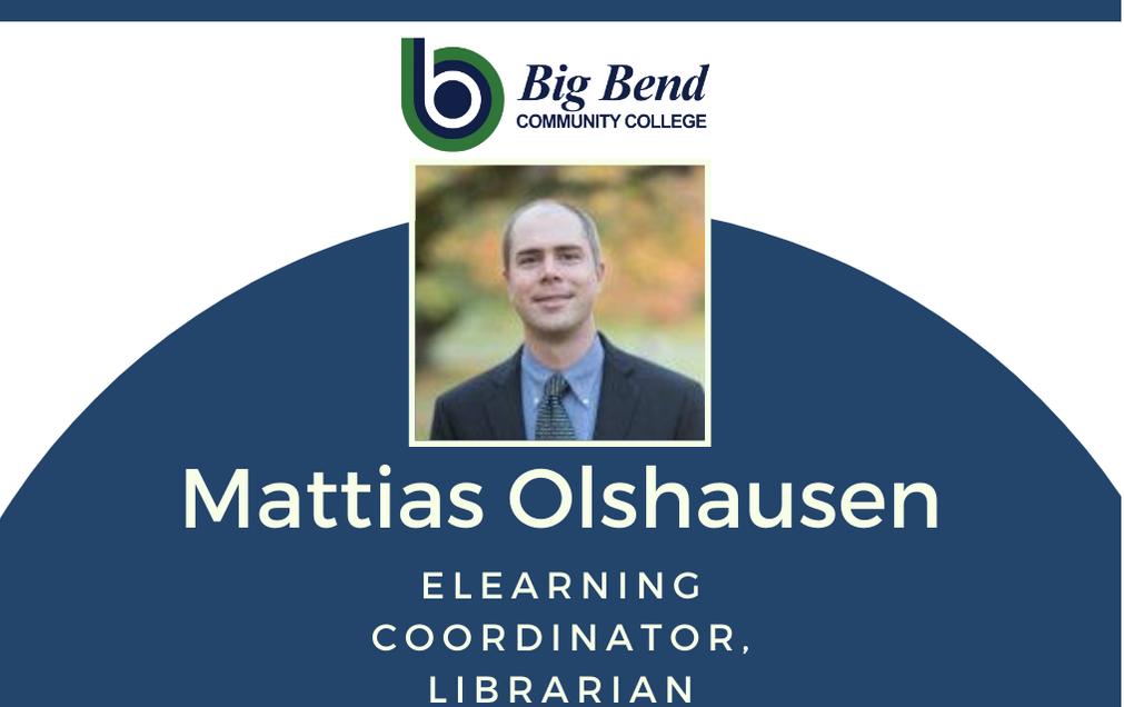 Mattias Olshausen: eLearning Coordinator, Librarian