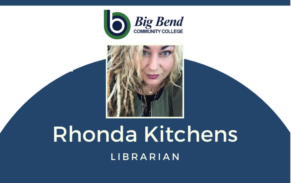 Rhonda Kitchens, Librarian