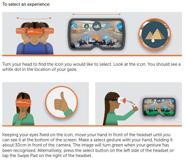 Diagram of Class VR navigation - part 2