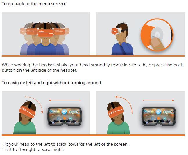 Diagram of Class VR navigation - part 3