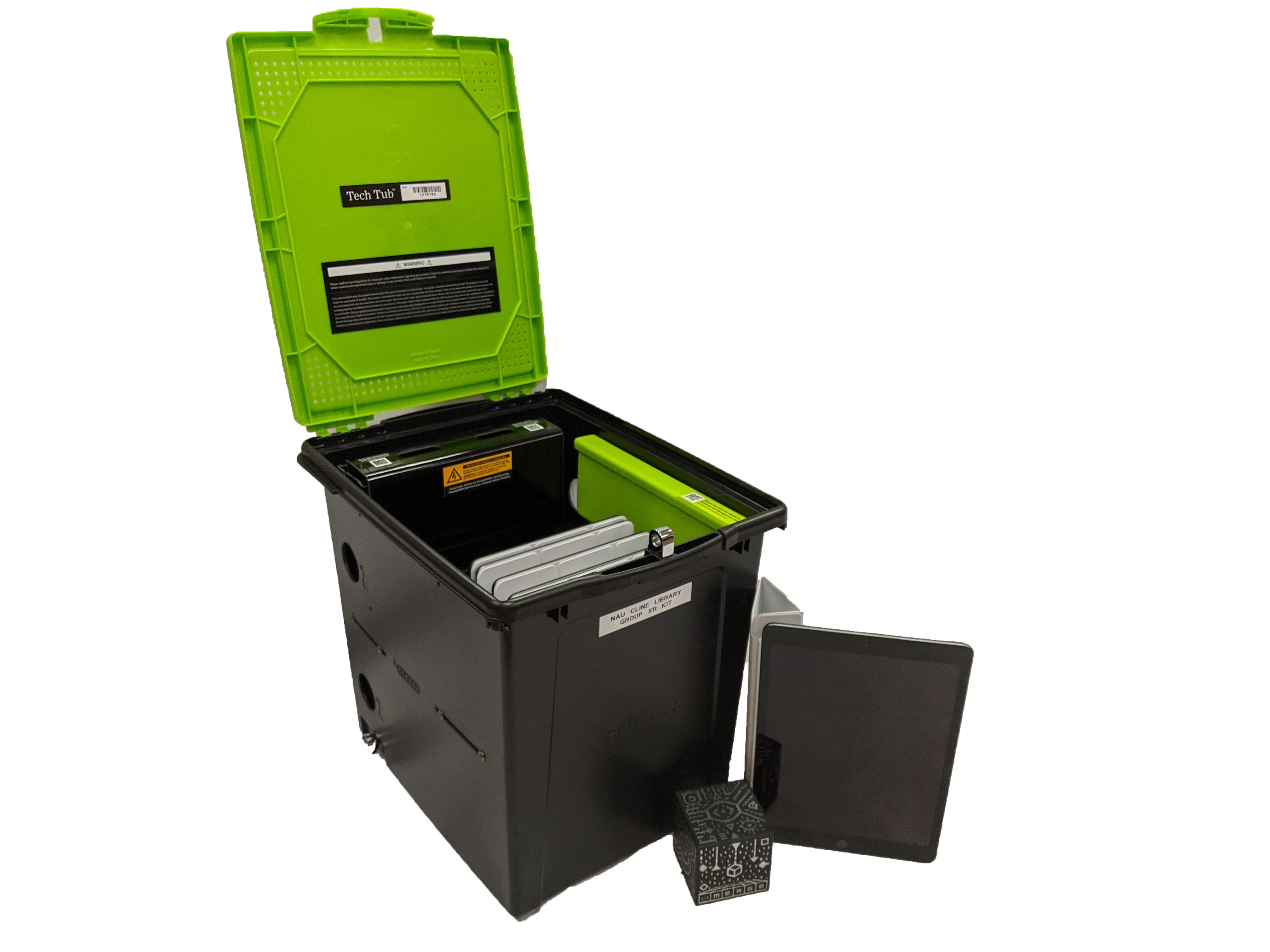 Group XR kit components and portable case