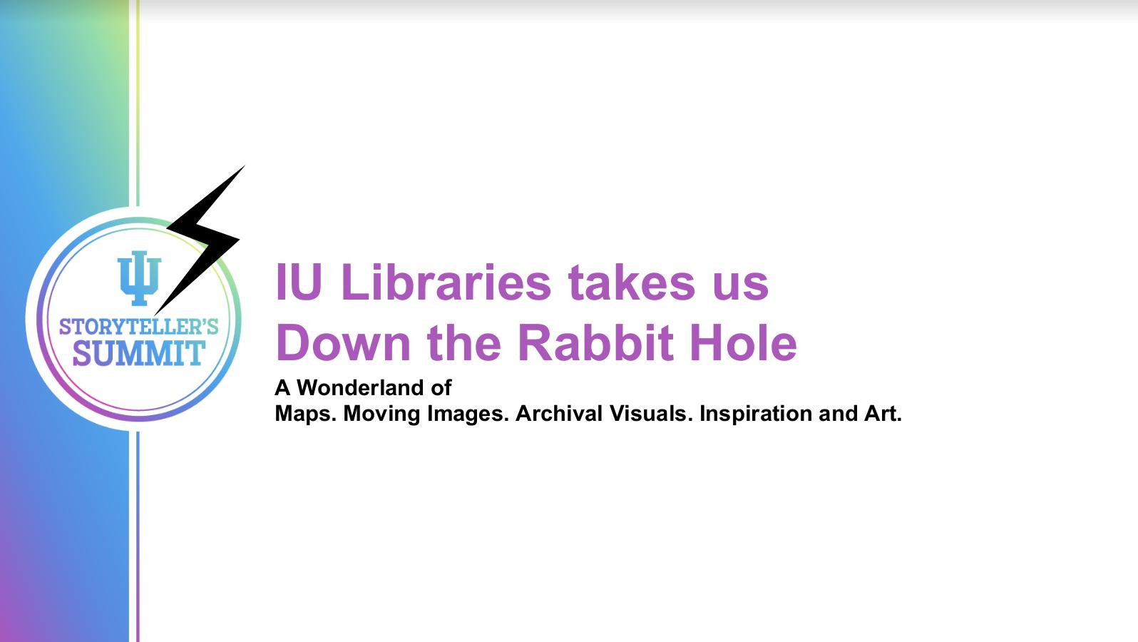 IU Summit 2021 Presentation Slide Deck Cover
