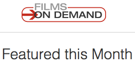 Films On Demand Database logo