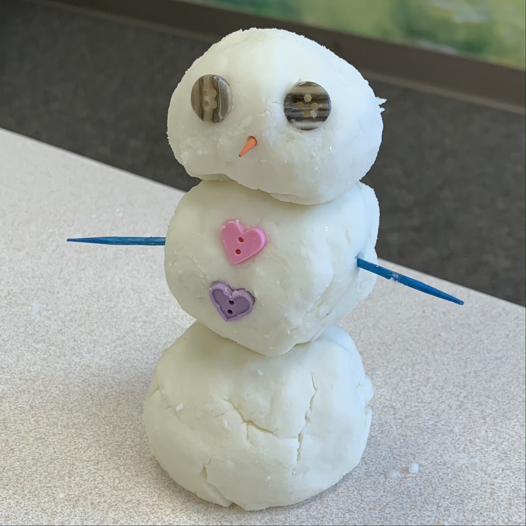 snowman from play snow