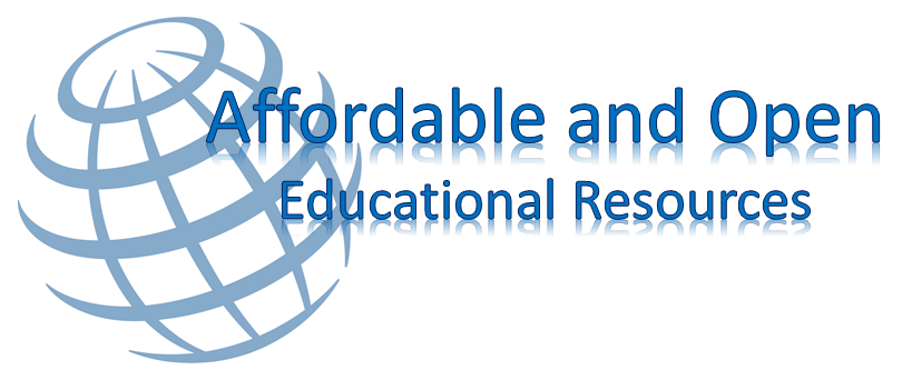 Affordable and Open Educational Resources banner