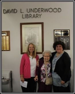 Janice Nessor Chu with Mrs. Underwood and daughter Cathy Underwood