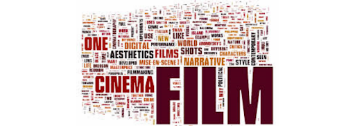 Wordle image of words related to Film Studies
