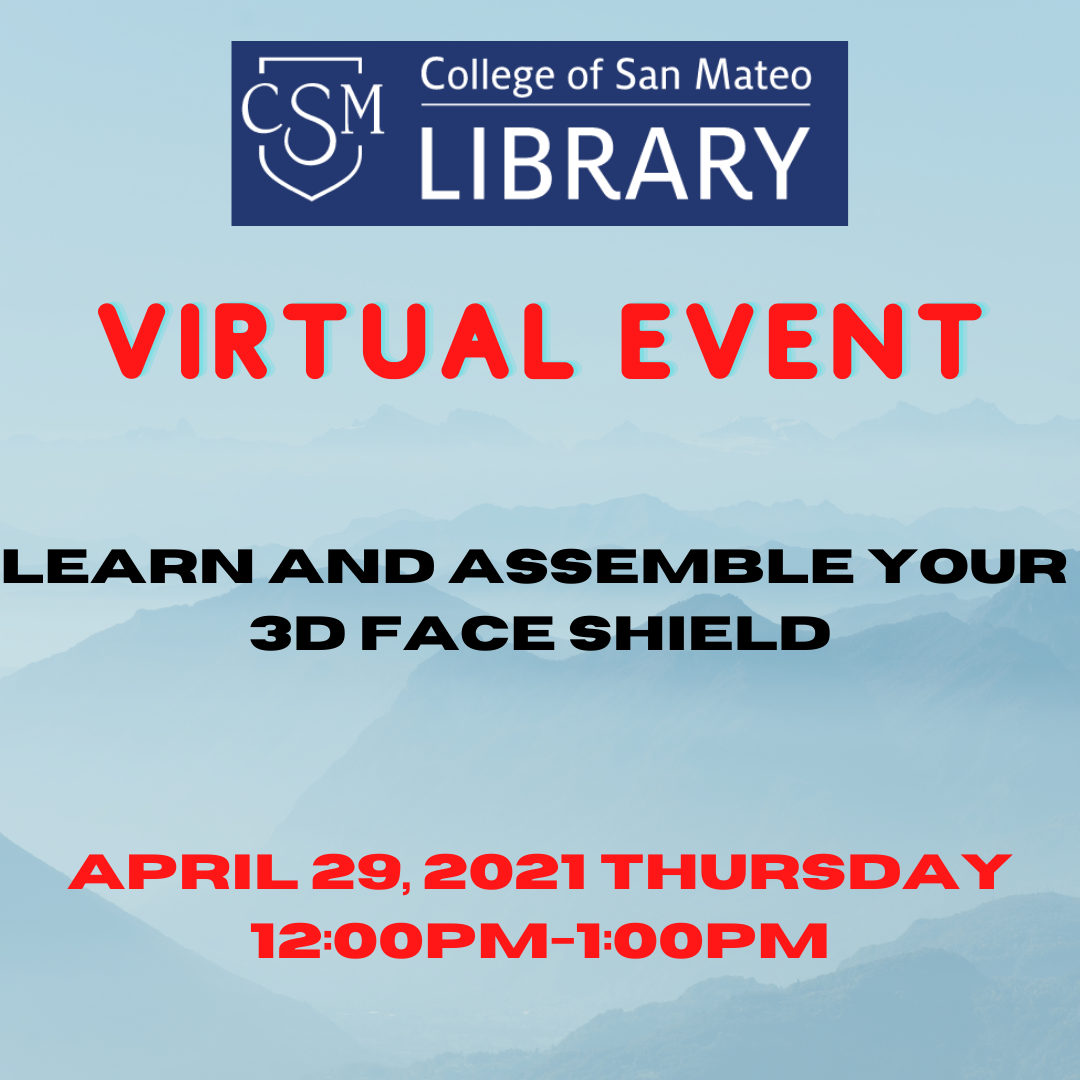 3D Face Shield Flyer