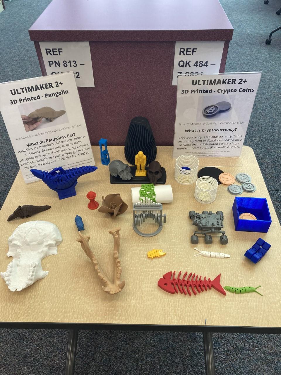 3D Print Display September 2021