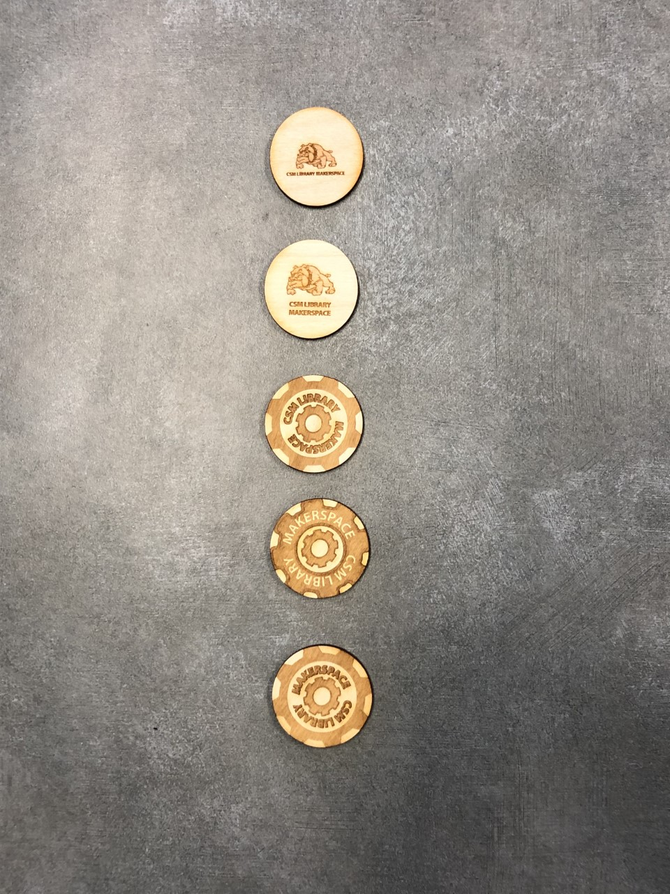 Wooden Poker Chips