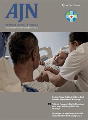 Cover of American Journal of Nursing
