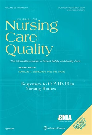Cover of Journal of Nursing Care Quality