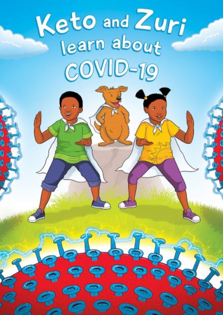 Keto and Zuri Learn about COVID-19