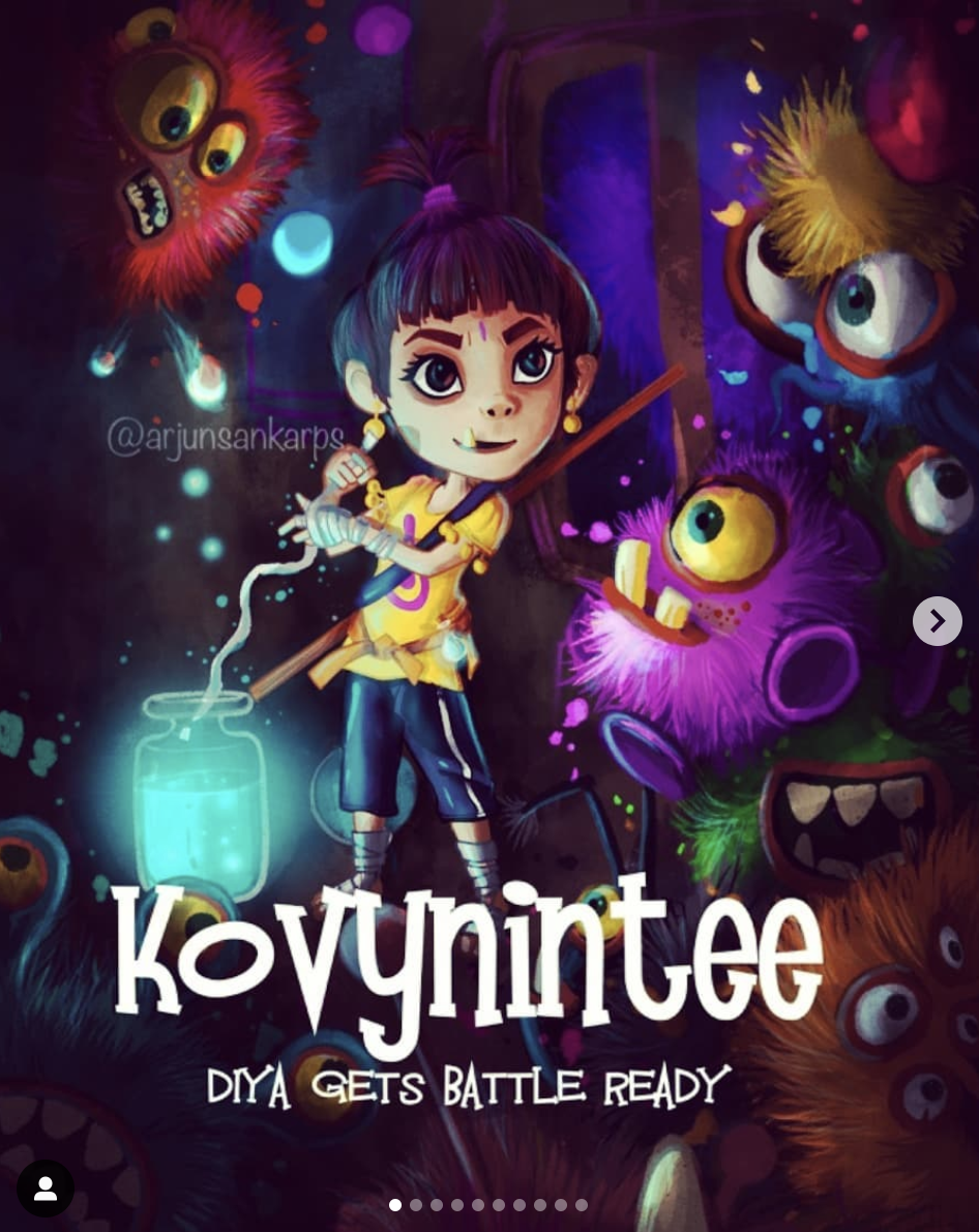 Kovynintee: Diya Gets Battle Ready