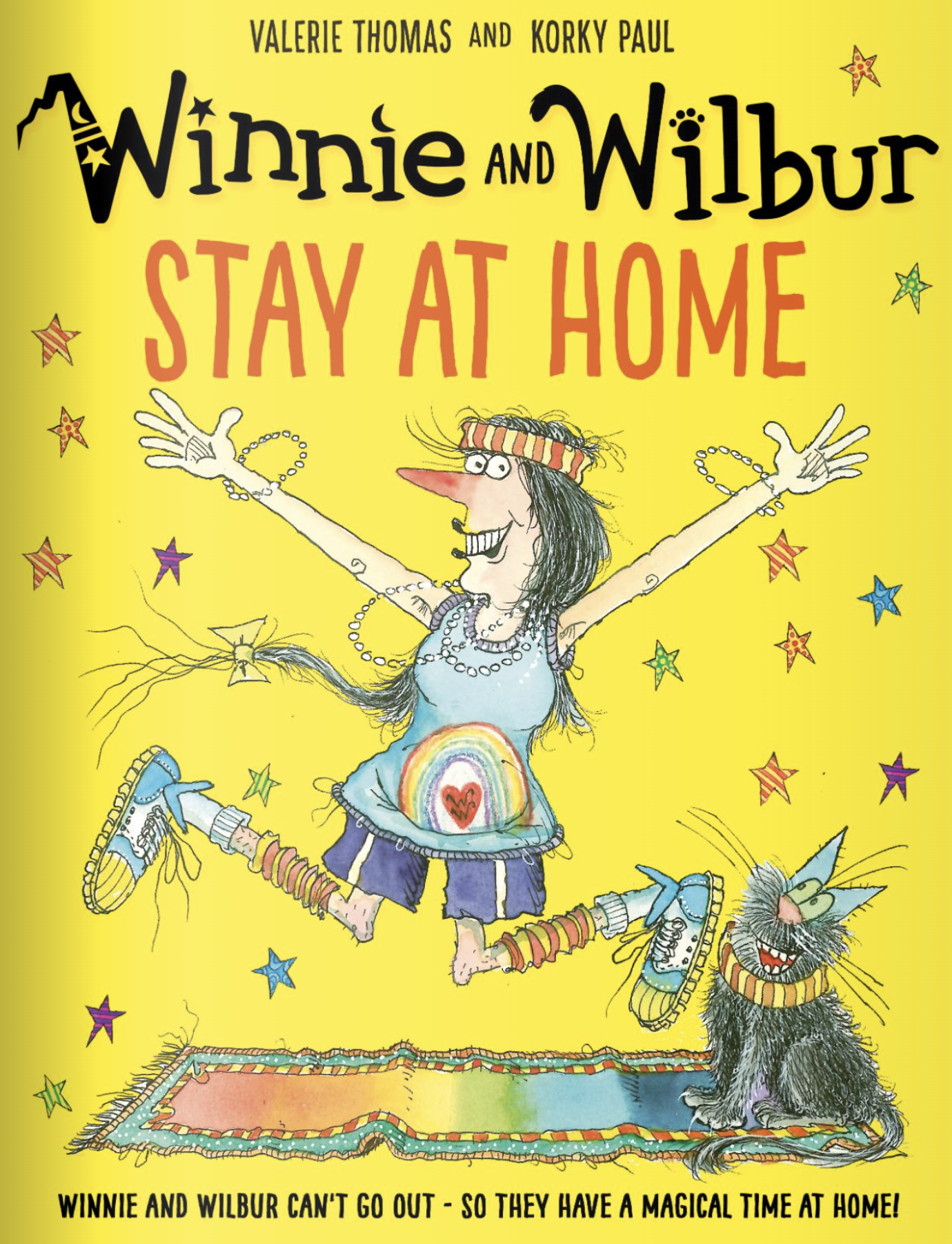 Winne and Wilbur Stay at Home