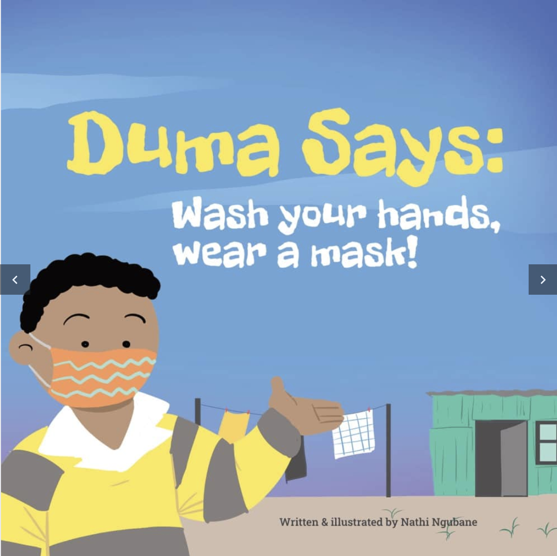 Duma says: Wash your hands, wear a mask!