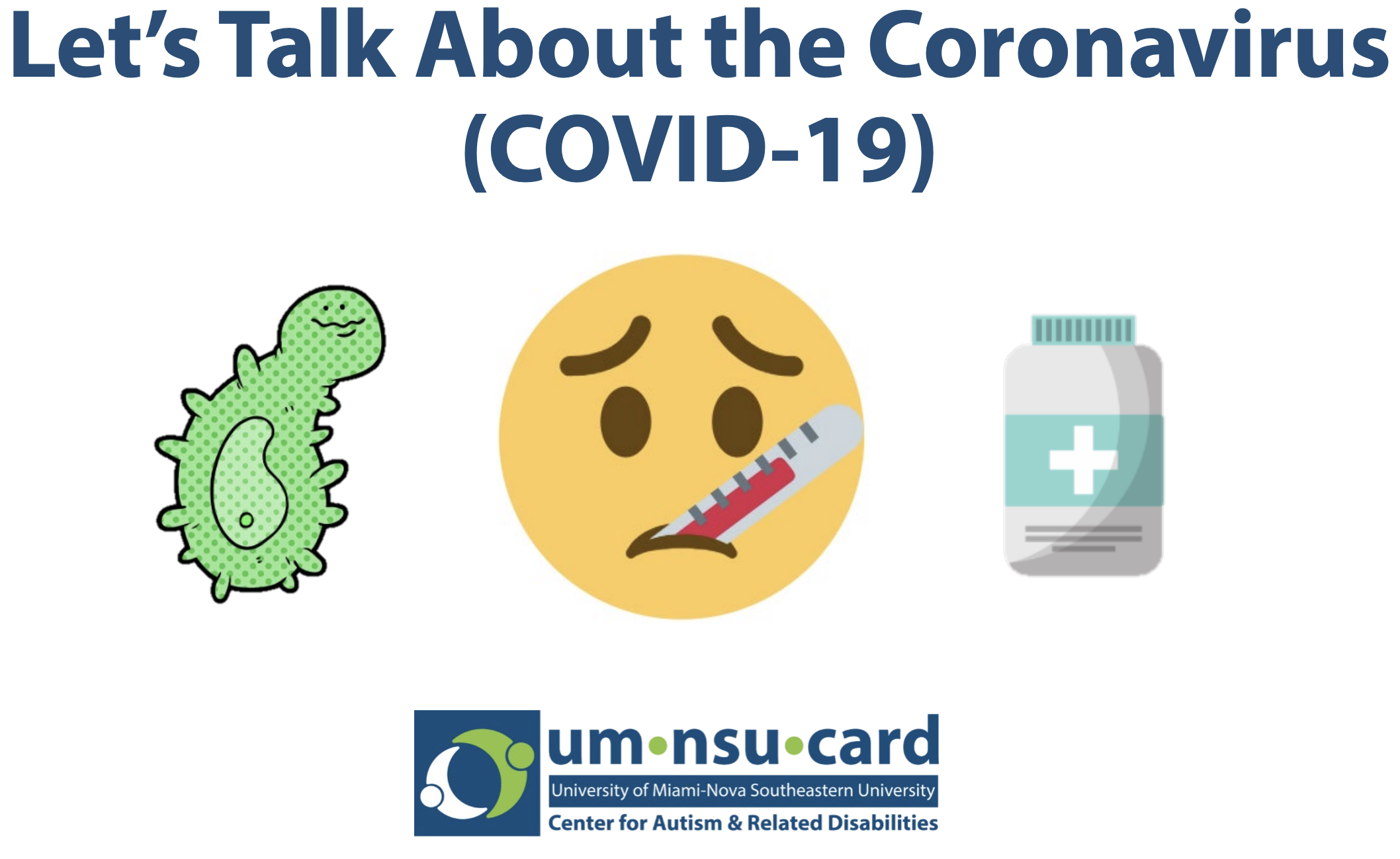 Let's Talk About the Coronavirus (COVID-19)