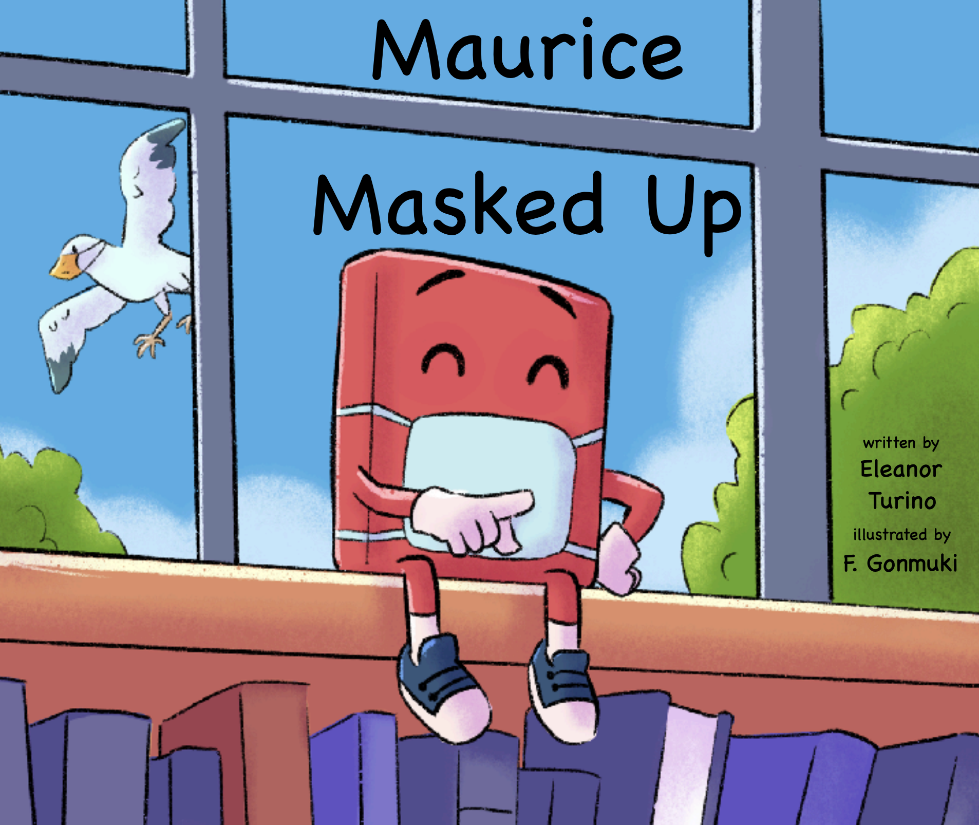 Maurice Masked Up