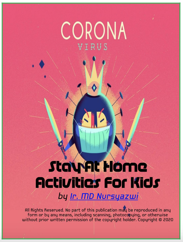 Coronavirus: Stay At Home Activities for Kids