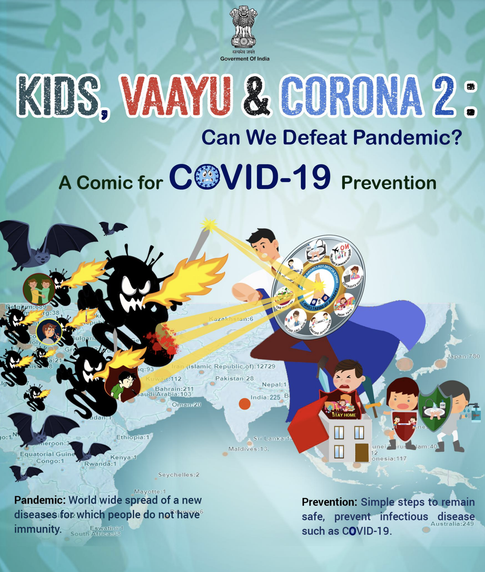 Kids, Vaayu & Corona 2: Can We Defeat Pandemic?