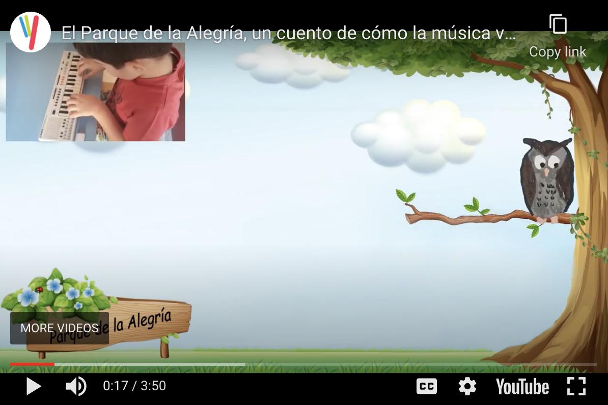 El Parque de la Alegría, un cuento de cómo la música vencerá al coronavirus