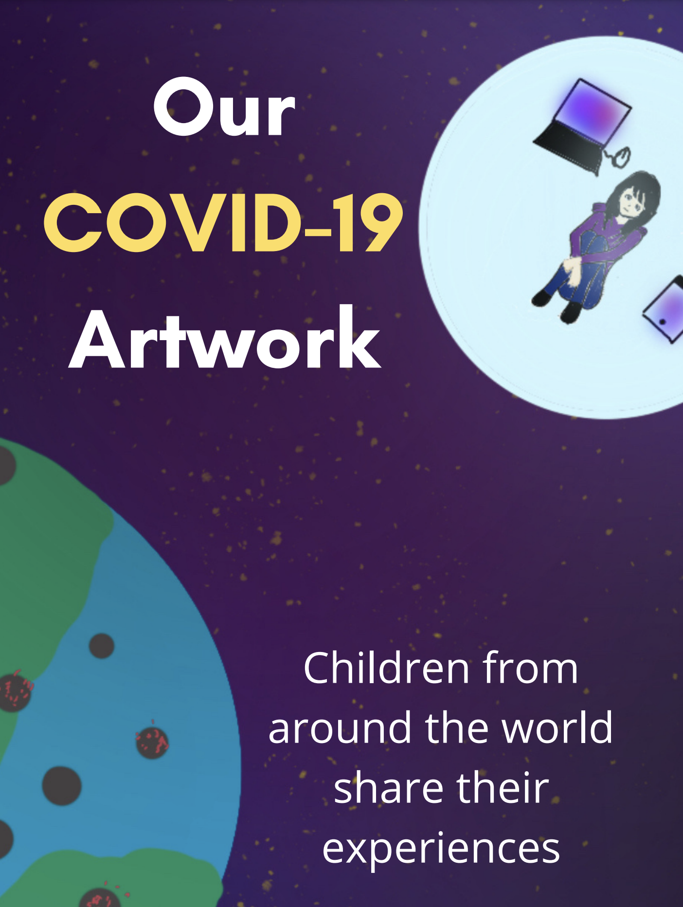 Our COVID-19 artwork: children from around the world share their experiences