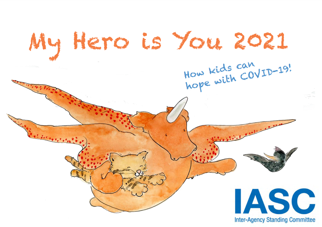 My Hero is You 2021: How kids can hope with COVID-19