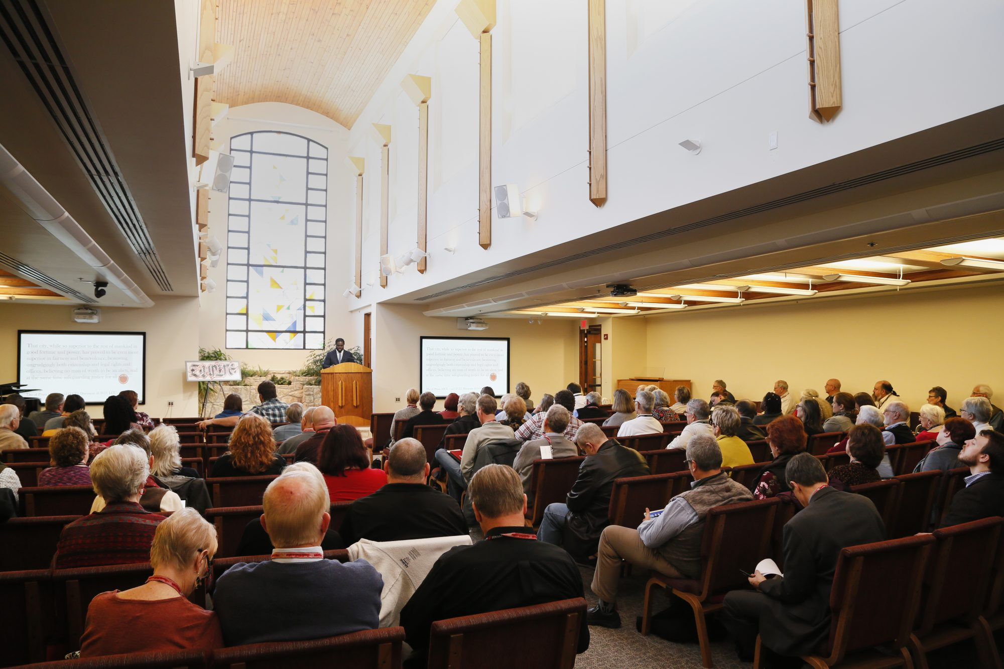 Image of the R&R Conference in 2019